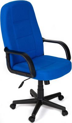 Кресло Tetchair СН747 (ткань Синий 2601) кресло tetchair сн888 ткань сетка синий синий 2601 10