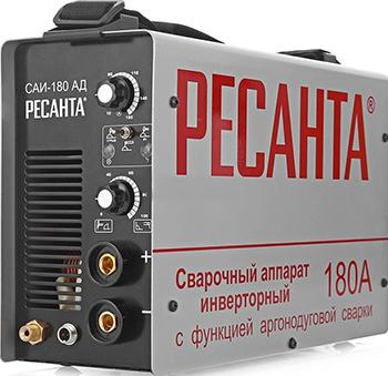 Сварочный аппарат Ресанта САИ-180-АД сварочный инвертор кратон smart wi 180