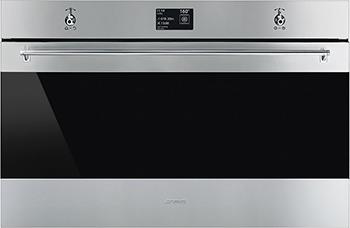 Встраиваемый электрический духовой шкаф Smeg SFP 9395 X1 электрический духовой шкаф smeg sft805po