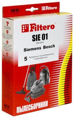 Набор пылесборников Filtero SIE 01 (5) Standard пылесборники filtero sie 02 standard двухслойные 5 шт для пылесосов siemens bosch