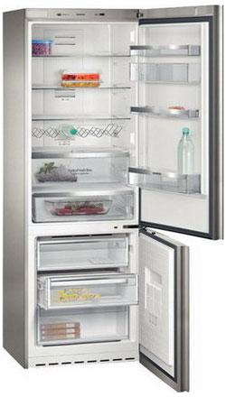 Двухкамерный холодильник Siemens KG 49 NSB 21 R холодильник siemens ka62nv02ti