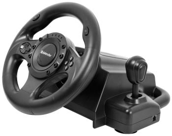 Руль Defender Forsage Drift USB-PS2-PS3 64370 руль проводной defender forsage sport 64372