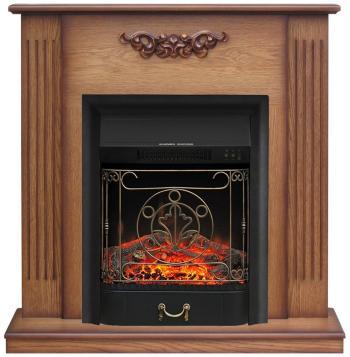 Каминокомплект Royal Flame Lumsden с очагом Majestic Black (дуб антик) (64867788)