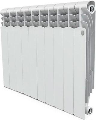 Водяной радиатор отопления Royal Thermo Revolution Bimetall 500 – 10 секц. радиатор отопления алюминиевый radena 500 85 10 секц