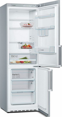 Двухкамерный холодильник Bosch KGV 36 XL 2 OR холодильник bosch kgn39nw13r двухкамерный белый