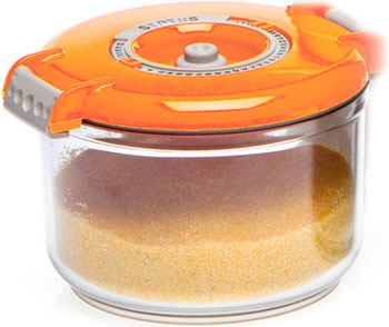 Контейнер для вакуумирования Status VAC-RD-075 Orange status vac baby
