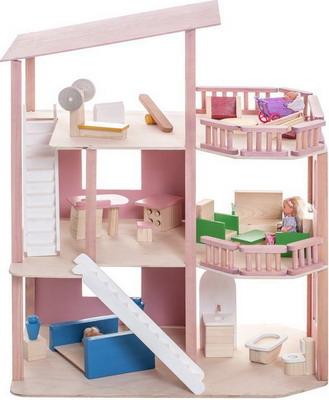 Кукольный дом Paremo Коралловый риф с мебелью 21 предмет PD 216