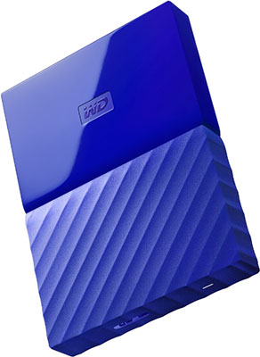 Внешний жесткий диск (HDD) Western Digital Original USB 3.0 1Tb WDBBEX 0010 BBL-EEUE My Passport 2.5'' синий new original my tqm616020
