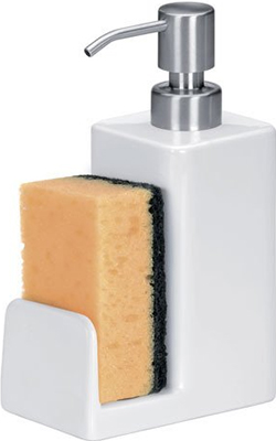 Дозатор для моющих средств Tescoma ONLINE 350мл с местом для губки 900812