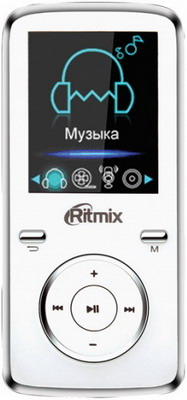 MP3 плеер Ritmix RF-4950 8Gb White mp3 плеер ritmix rf 4950 8gb white