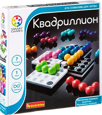 Головоломка Bondibon Квадриллион ВВ1057 головоломка bondibon цветовой код bb0352 sg 090 ru