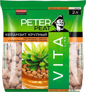 Керамзит PETER PEAT VITA фракция 10-20 2л керамзит peter peat vita фракция 5 10 2л