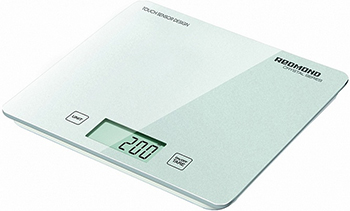 Кухонные весы Redmond RS-724 (E) Белые весы кухонные электронные redmond rs 724