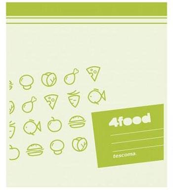 Пакеты для продуктов Tescoma 4FOOD 23 x 27см  15шт  897028 салатник кутюр 27см 791956