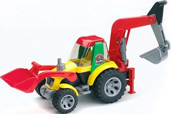 Экскаватор Bruder ROADMAX 20-105 bruder трактор погрузчик roadmax