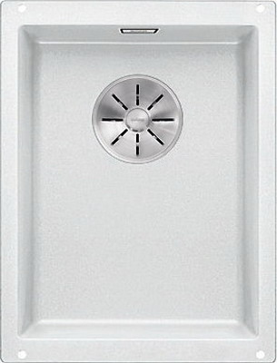 Кухонная мойка BLANCO SUBLINE 320-U SILGRANIT белый с отв.арм. InFino 523410