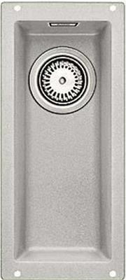 Кухонная мойка BLANCO 523399 SUBLINE 160-U SILGRANIT жемчужный c отв.арм. InFino blanco statura 160 u