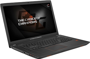 Ноутбук ASUS ROG GL 753 VD-GC 139 T (90 NB0DM2-M 02030) ноутбук asus gl 753 ve gc 247 90 nb0dn2 m 04060