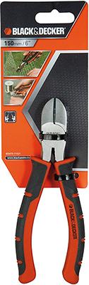 Кусачки BlackampDecker диагональные 150 мм BDHT0-71621 душевой трап pestan square 3 150 мм 13000007