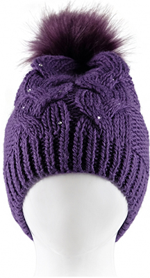 Шапочка Reike RKN 1718-2 bs purple  р.52  Пурпурный sinbo rkn 12 blue