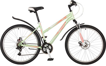 Велосипед Stinger 26 SHD.LATINAD.17 GN7 26'' Latina D 17'' зеленый велосипед stinger valencia 2017