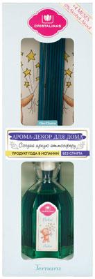 Арома-диффузор CRISTALINAS Mikado для жилых помещений с ароматом детского крема 180 мл moyou london плитка для стемпинга zodiac 14