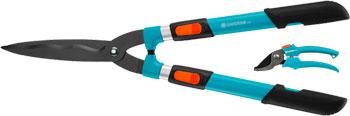 цена на Комплект Gardena Ножницы для живой изгороди механические телескопические Comfort 700 T секатор Classic 25 00394-30.00