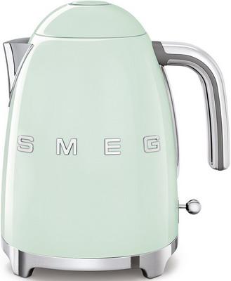Чайник электрический Smeg KLF 03 PGEU пастельный зеленый smeg klf02sseu чайник электрический chrome