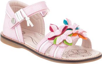 Туфли открытые Kapika 33298П-1 32 размер цвет розовый dalfr розовый цвет