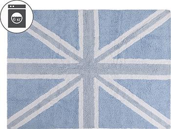Ковер Lorena Canals Флаг Великобритании голубой 120*160 C-FEB-2