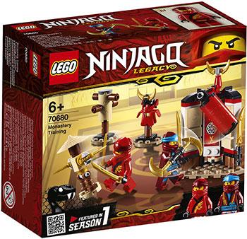 Конструктор Lego Обучение в монастыре 70680 Ninjago Legacy конструктор lego земляной бур коула 70669 ninjago legacy