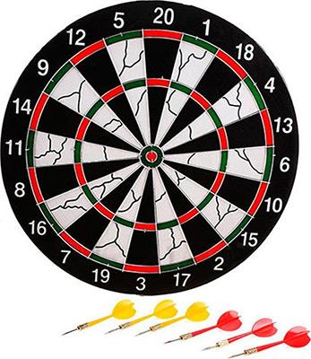 Набор для игры SPORT ELIT DART-15 B 38 см