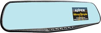 Автомобильный видеорегистратор Axper Mirror Simple автомобильный видеорегистратор axper universal