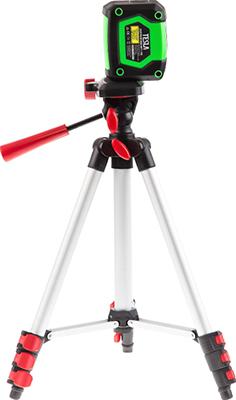лучшая цена Набор лазерный нивелир+штатив TESLA L-10 S