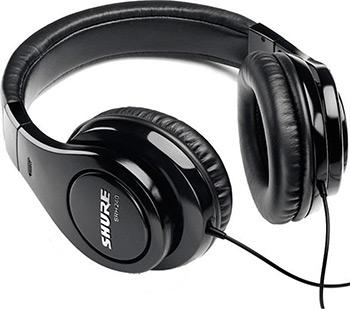 Накладные наушники Shure SRH 240 A-EFS черный микрофон shure sv200 a черный