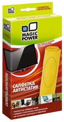 Салфетка из микрофибры Magic Power MP-504 magic price салфетка универсальная из микрофибры 40х60см 14мр 027 фиолетовая
