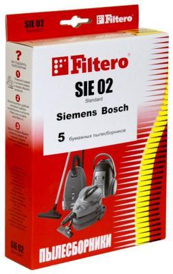 Набор пылесборников Filtero SIE 02 (5) Standard пылесборник для сухой уборки filtero sie 02 comfort