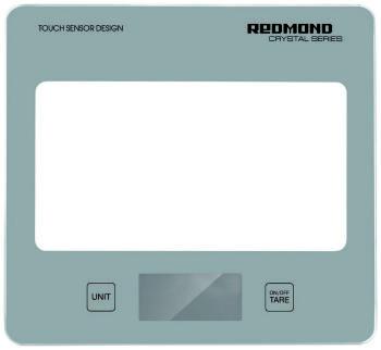 Кухонные весы Redmond RS-724 серебро весы кухонные электронные redmond rs 724