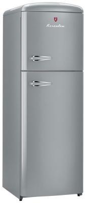 Двухкамерный холодильник Rosenlew RТ291 SILVER двухкамерный холодильник don r 297 b