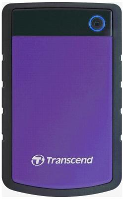 Внешний жесткий диск (HDD) Transcend StoreJet 25 H3P 500 GB (TS 500 GSJ 25 H3P) transcend storejet 25m3 1tb