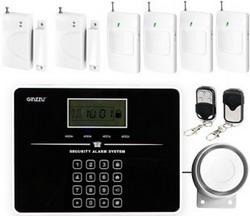 Комплект сигнализации Ginzzu HS-K 02 B комплект сигнализации ginzzu hs k12b