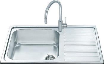 Кухонная мойка Smeg LGM 861 D-2 мойка lv100s smeg