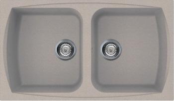 Кухонная мойка Smeg LSE 862 AV-2 овес (GRANITEK)