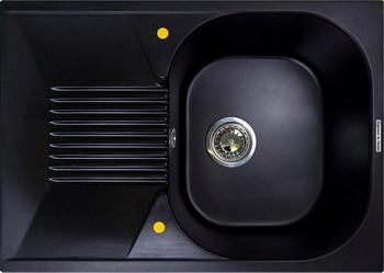 Кухонная мойка Zigmund amp Shtain KLASSISCH 695 чёрный базальт кухонная мойка zigmund amp shtain eckig 800 черный базальт