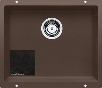 Кухонная мойка Zigmund amp Shtain INTEGRA 500 черный базальт кухонная мойка ukinox stm 800 600 20 6