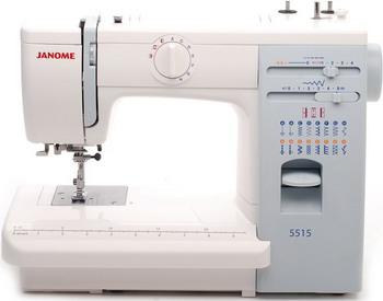 Швейная машина JANOME 5515 швейная машинка janome sew mini deluxe