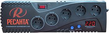 Стабилизатор напряжения и сетевой фильтр Ресанта C-1000