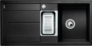 Кухонная мойка BLANCO METRA 6S SILGRANIT антрацит кухонная мойка ukinox stm 800 600 20 6
