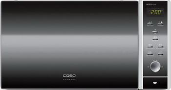 Микроволновая печь - СВЧ CASO MCG 25 Chef микроволновая печь с грилем и конвекцией caso mcdg 25 master black