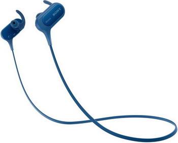все цены на Наушники Sony MDR-XB 50 BS синий онлайн